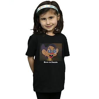 ディズニーガールズドーピー生まれまぶしいTシャツ