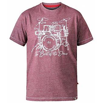 DUKE Duke - Camiseta do pescoço da equipe de tambores D555