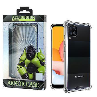 Samsung A42-fodral transparent - Anti-Shock