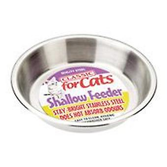 Classic For Pets Shallow S.S.Cat Dish500ml