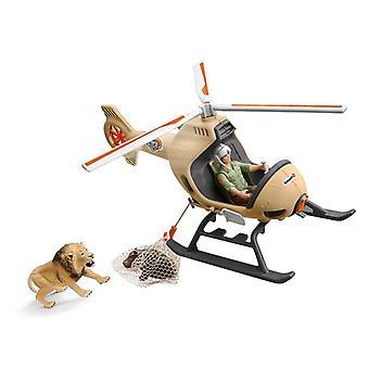 Schleich dyreredningshelikopter