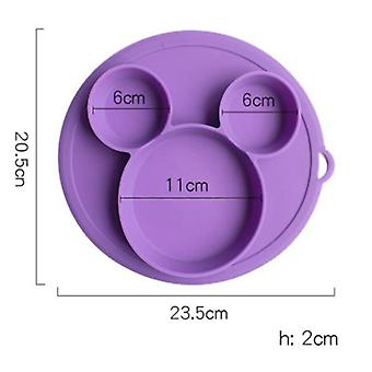 Baby Feeding Plate Set, Food Silicone Safety Plate, Tableware, Bowl Kids,