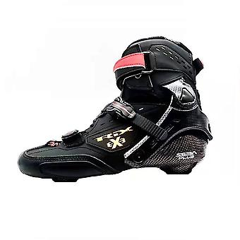 Boot Professional, Adult Inline Skates, Carbon Fiber Up Shoes, Roller Skating,