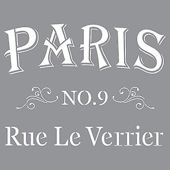 Decoart Stencil - Parisiska Gatan