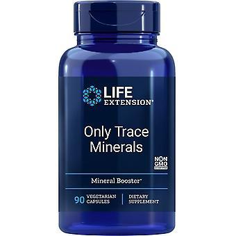 Estensione della vita Solo tracce minerali Vegicaps 90