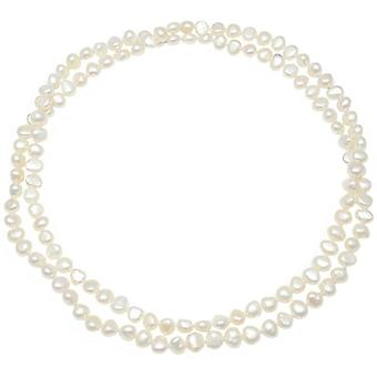 Pearls of the Orient Margarita Freshwater Pearl Loop Necklace - White
