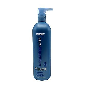 Rusk Deep Shine Color Hydrate Conditioner 25 OZ