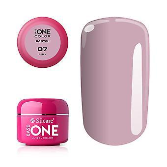 Base One - UV Gel - Pastel Shades - Pink - 07 -5 gram