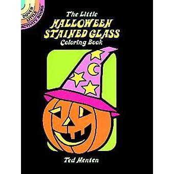 Het kleine Halloween glas-in-lood kleurboek