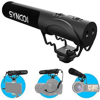 FengChun Kamera Mikrofon, Richtmikrofon DSLR Shotgun Video Externes Mikrofon Kondensator