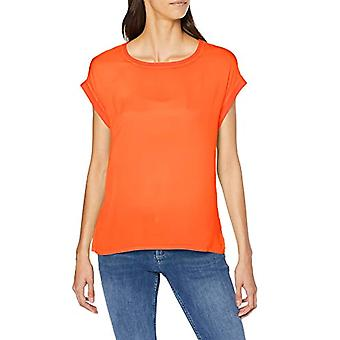 s.Oliver 21.907.32.4623 T-Shirt, Orange (Papaya 2500), 46 (Manufacturer Size: 40) Woman