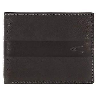 Camel active - Horizontale portemonnee met RFID, voor mannen, met portemonnee en horizontale portemonnee, kleur: Zwart(2)