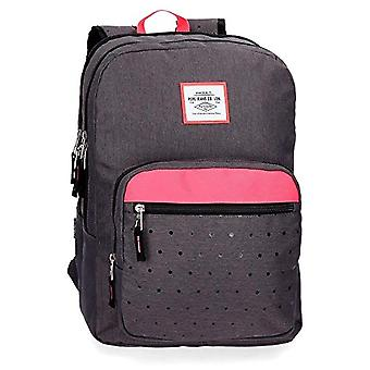 Pepe Jeans Molly Backpack 44 centimeters 20.13 Grey (Gris)(1)