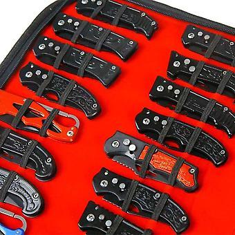 FengChun Taschenmesser-Aufbewahrungstasche, Kleines Messer-Etui, zusammenklappbar, fr
