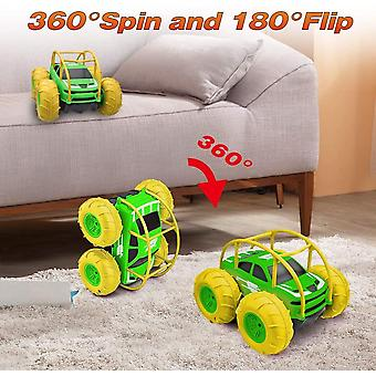 FengChun Remote Control Car Christmas Birthday Gift for 4-12 Years Old Kids, 360 Flip with Colorful