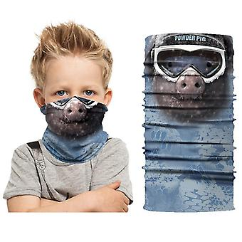 3D digital printing children's small animal outdoor sun mask