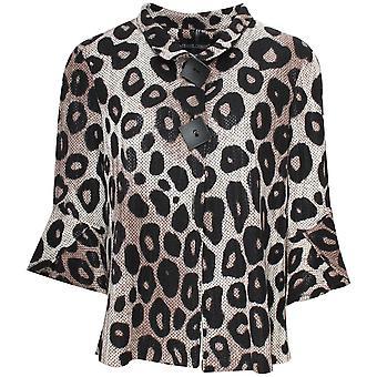 Frank Lyman Leopard Print Light Weight Jacket