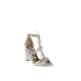 Badgley Mischka | Laney Embellished T-Strap Sandals