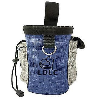 Denim blue puppy pet dog obedience training treat feed bait food snack pouch belt bags az8996