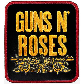 Guns N' Roses - Stablet svart standard patch