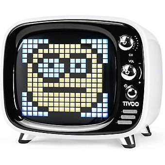 Głośnik Bluetooth Divoom tivoo V5.0 z ekranem Smart Pixel Art, biały