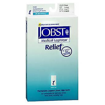 Jobst Jobst Relief Women's Firm Support Open-Toe Knee Highs Beige, Extra Large each