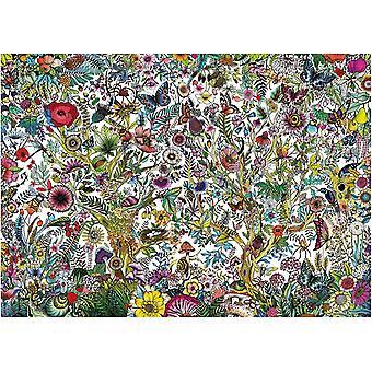 Falcon Contemporary Flora och Fauna pussel (1000 stycken)