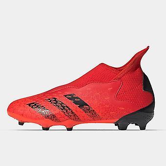 أداسداس المفترس نزوة .3 Laceless جونيور FG أحذية كرة القدم
