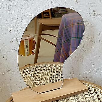 مرآة ماكياج Ins مرآة الاكريليك الزخرفية غير النظامية