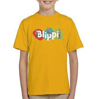 Blippi Animated Logo Kid's T-Shirt