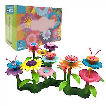 Diy Handmade Flower Arrangement Toys(46 PCS)