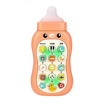 Baby Cell Phone Toy, Kids Play Phone Lights Music Educational Toy