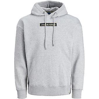 Jack & Jones Heren Jornewport Smallscale Logo Sweat Hoodie