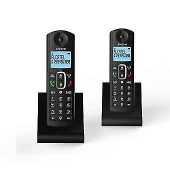 Téléphone sans fil Alcatel F685 DUO Noir