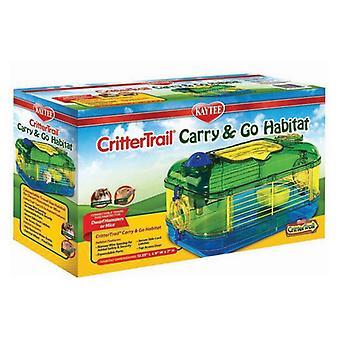 """Kaytee Critter Trail Carry & Go Habitat - Mini 1 - 12,25 """"L x 8 """" B x 7 """" H"""