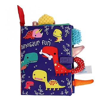 Baby Reading Book Toys Soft Early Learning Develop Cognize Infant Quiet
