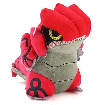 Bobblehead figures groudon plush toy doll 14cm