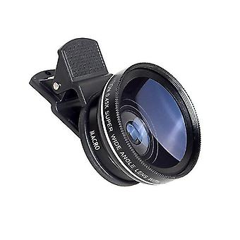 Lens converters apl-0.45wm wide angle and macro 2in1 phone lens