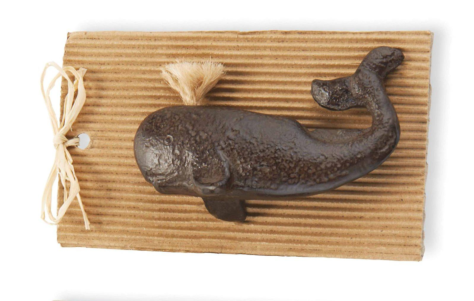 Spouting Whale Bottle Opener Coastal 4.5 Inch Cast Iron Mud Pie