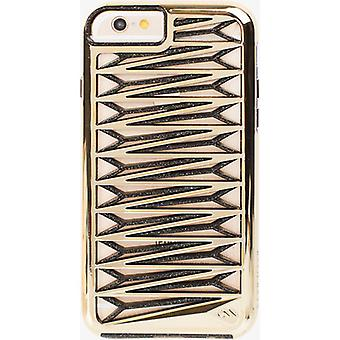 5 Pack -Case-Mate Tough Layers Kite Case for Apple iPhone 6/6S - Gold / Sheer Glam Noir