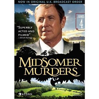 Midsomerin murhat: Sarja 4 [DVD] Yhdysvallat tuoda