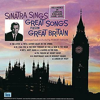 Frank Sinatra - Sinatra Sings Great Songs From Great Britian [Vinyl] USA import