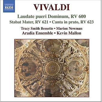 A. Vivaldi - Vivaldi: Laudate Pueri Dominum; Stabat Mater; Canta in Prato [CD] USA importieren
