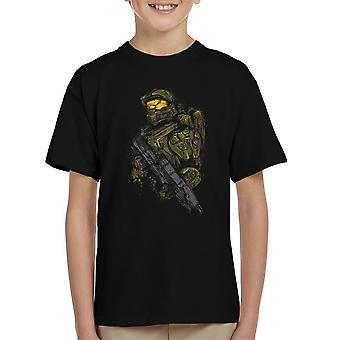 Halo Master Chief Lasten t-paita