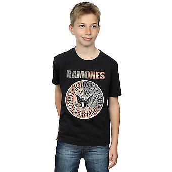علم الأولاد رمونس ختم تي شيرت