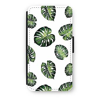 iPod Touch 6 Flip Case - Blätter Tropical