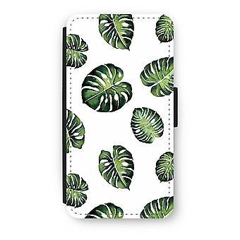 iPod Touch 6 Flip Case - tropisk blade