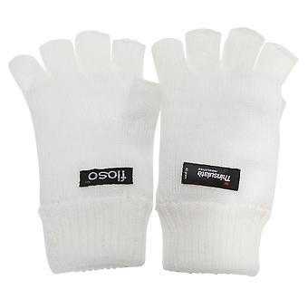 FLOSO レディース/レディース シンサレート熱指なし手袋冬の手袋 (3 M 40 g)