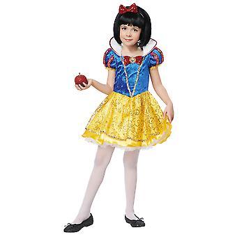 Snow White Deluxe Costume Princesse conte de fées Storybook livre semaine filles
