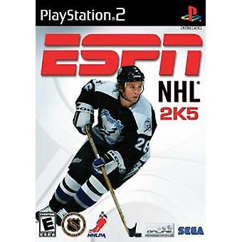 ESPN NHL 2K5 (PS2) - Nieuwe fabriek verzegeld